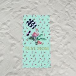 Serviette de plage Best Mom