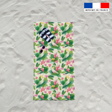 Serviette de plage pastèque