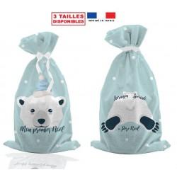 sachet cadeau ours polaire