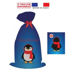 sachet cadeau pingouin