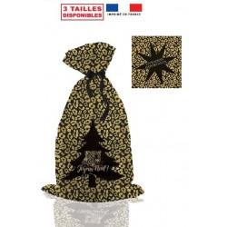 sachet cadeau léopard