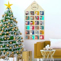 Calendrier de l'avent animaux de Noël