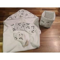 Coffret toilette naissance panda